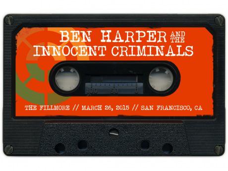 Ben Harper & The IC - Live Fillmore 26 Mars 2015 en téléchargement gratuit pendant 24h