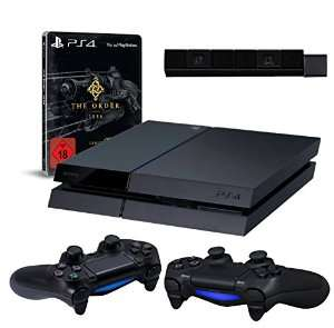 Console Sony PS4 + 2 manettes DS4 + Caméra + The Order: 1886 Edition limitée