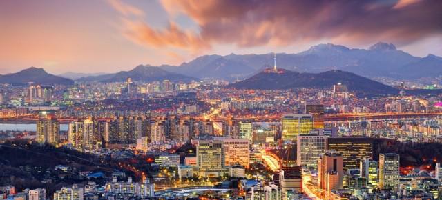 Vols A/R pour Séoul (au départ de Bruxelles ou Genève)