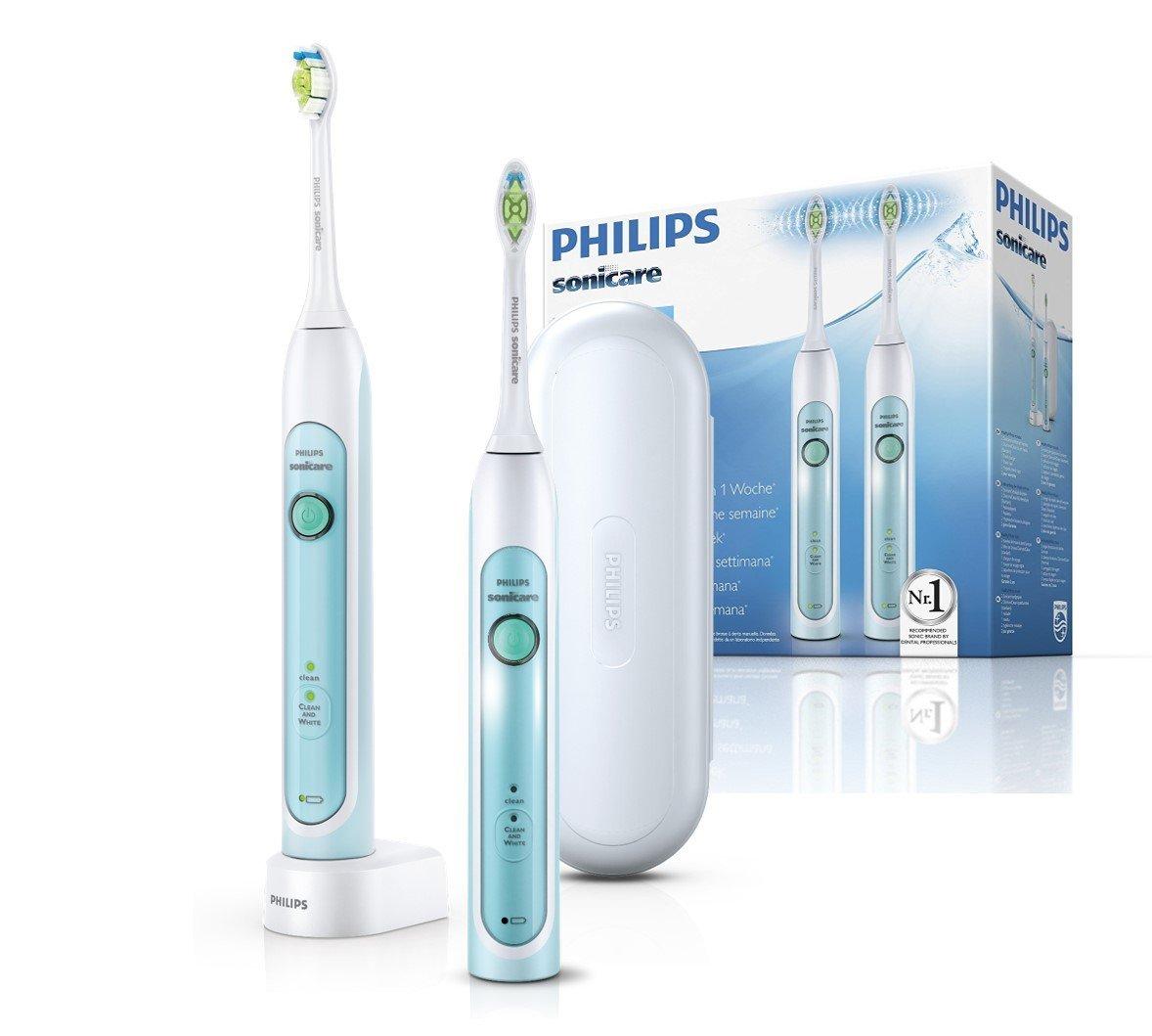 Lot de 2 brosses à dents Philips Sonicare HealthyWhite HX6732/37