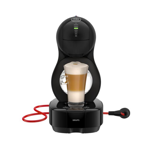 6 boîtes de capsules achetés = machine à café Krups Dolce Gusto Lumio à 59€
