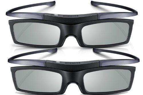 Lot de 2 paires de lunettes 3D SSG-P51002 pour TV Samsung