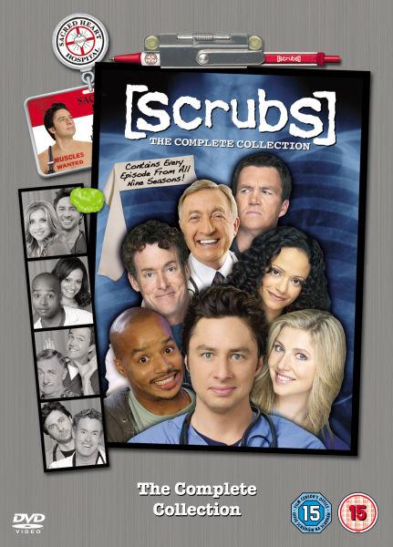 Sélections de DVD / Blu-ray en promotion - Ex: Coffret DVD Intégral Scrubs - Saisons 1 à 9