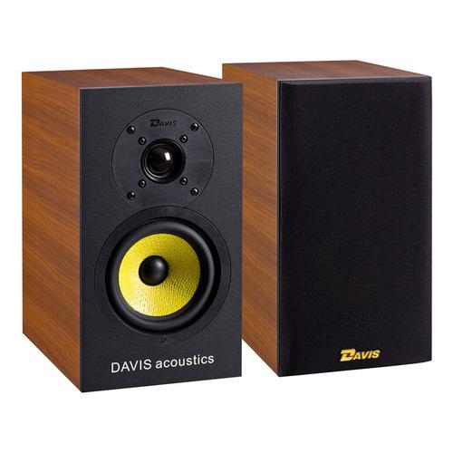 Paire d'enceintes bibliothèque Davis Acoustics DUFY 3D Noyer