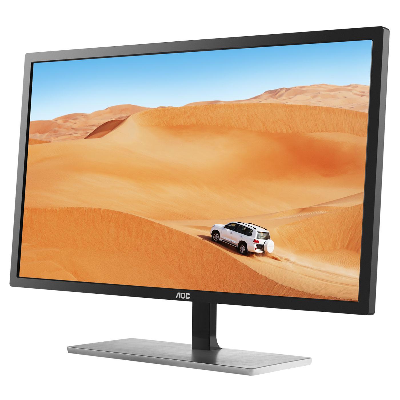 "Écran PC 31.5"" AOC Q3279VWF - Dalle MVA, 2560 × 1440, Freesync, 5 ms (+ bon d'achat de 10€ via l'applicati"
