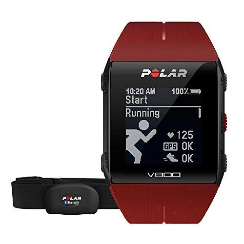 Montre GPS Polar V800 avec capteur de fréquence cardiaque H10