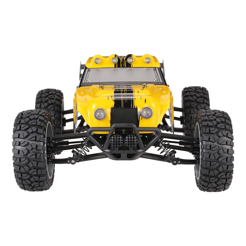 Voiture tout-terrain radiocommandée RC HBX 12891 Jaune - 4WD, Étanche, Éclairage LED, Amortisseurs hydrauliques (+ 6€ en SuperPoints)