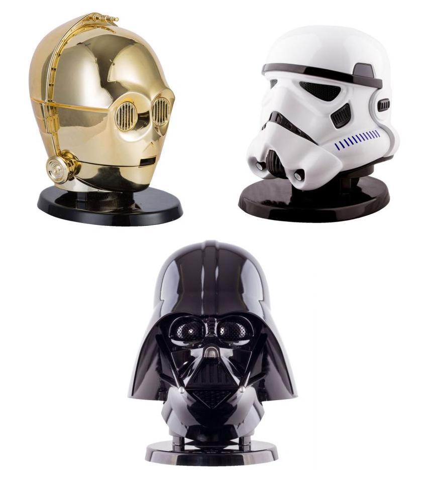 Enceinte bluetooth Star Wars - C-3PO, Dark Vador ou Stormtrooper