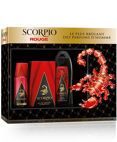 Coffret Scorpio - 1 eau de toilette + 1 gel-douche + 1 déodorant (via 6.2€ en bon d'achat)