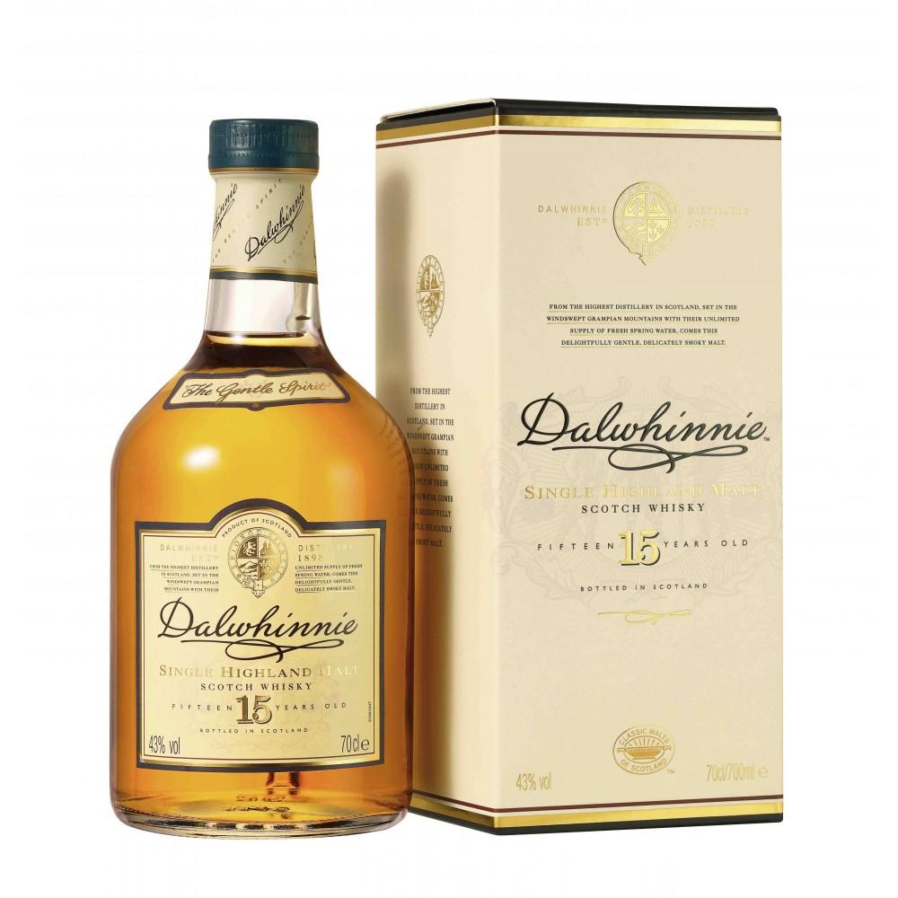 Whisky Dalwhinnie 15 ans d'âge 70cl (via 10€ en bon d'achat)
