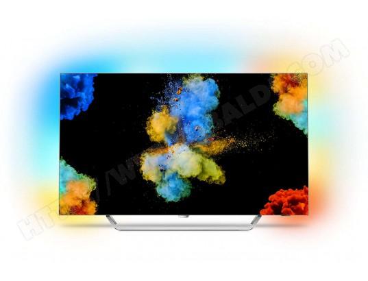 "TV 55"" Philips 55POS9002 - OLED, 4K, Ambilight 3 côtés"
