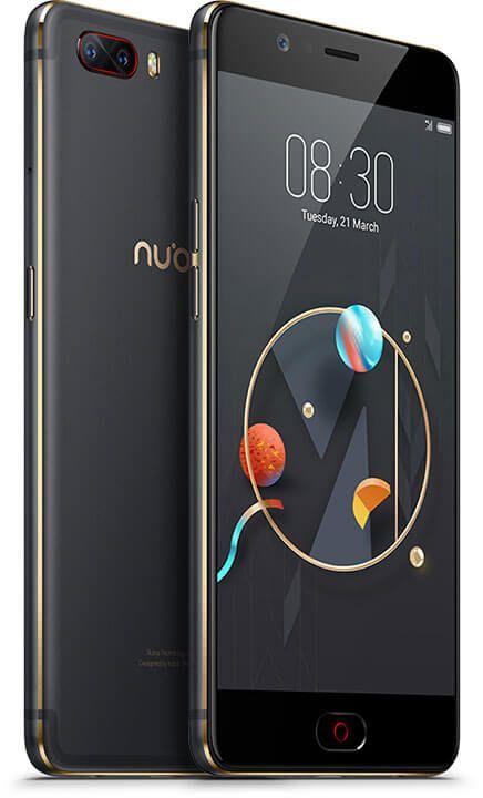 "Smartphone 5.5"" Nubia M2 - full HD, SnapDragon 625, 4 Go de RAM, 64 Go, 4G (B20), noir"