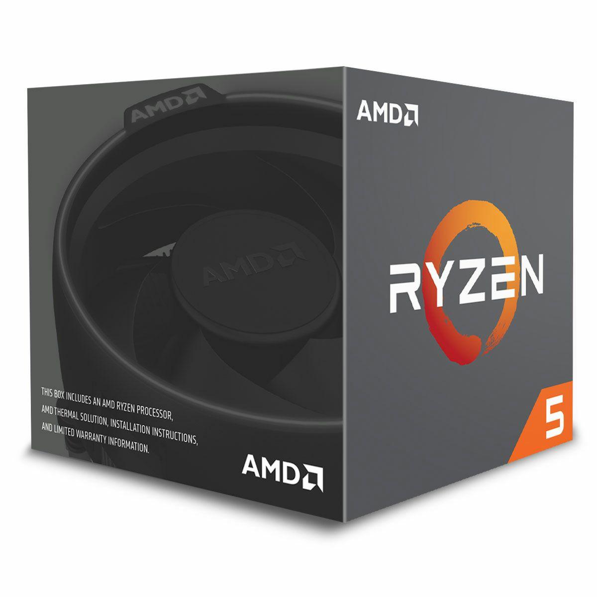 Sélection de processeur Ryzen AMD en promo - Ex: AMD Ryzen 5 1600 Wraith Spire Edition (3.2 GHz) + Quake Champions (Dématérialisé)
