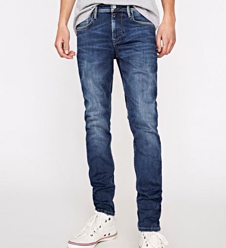 [Membres inscrits] Jusqu'à 50% de réduction sur des articles Pepe Jeans - Ex : Jean Finsburry Slim Fit Waist - Différentes tailles