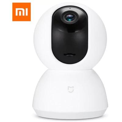 Caméra de surveillance IP Xiaomi MiJia Pan-Tilt - 720p, 360°, Vision nocturne, Détection de mouvements