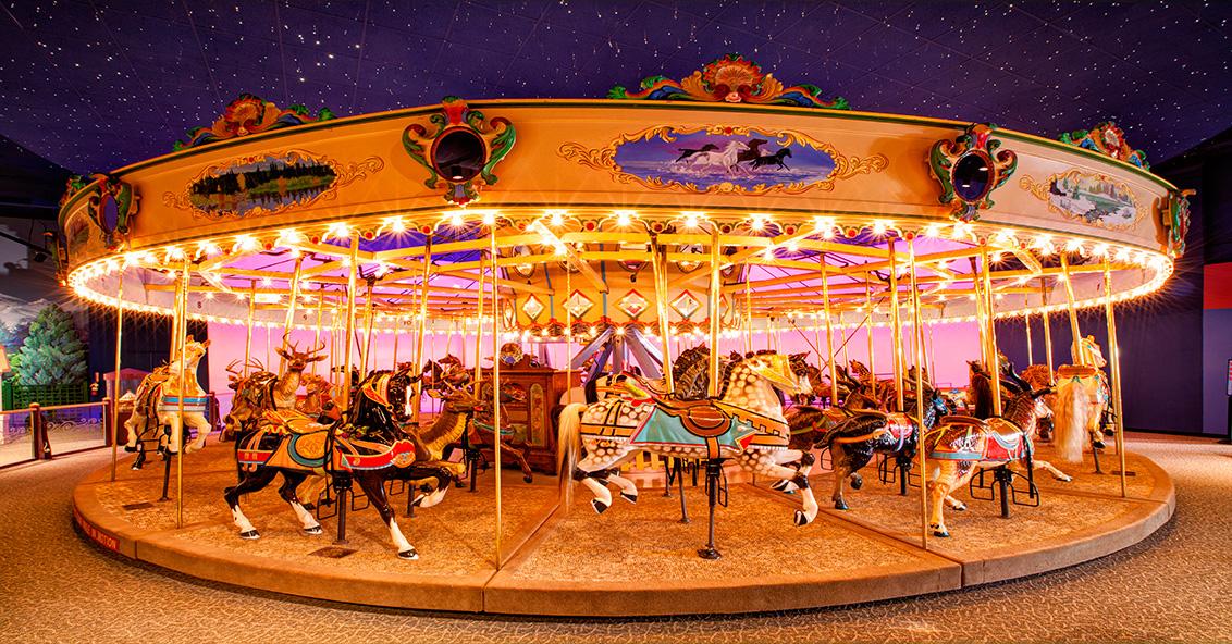 Tour de carrousel Gratuit pour les enfants à Meudon-la-forêt (92)
