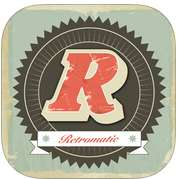 Application Retromatic 2.0 gratuite sur iOS (au lieu de 1.99 €)
