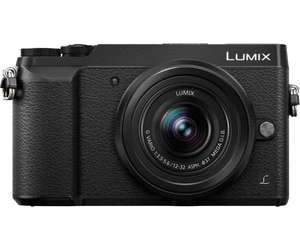 Pack appareil photo compact à objectif interchangeable Panasonic Lumix DMC-GX80 + objectif 12-32 mm + carte SD (16 Go) + sacoche (via ODR de 50€)