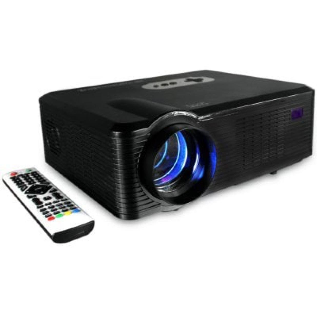Vidéo-projecteur Excelvan CL720 - LED, 1280x800, 3000 lumens
