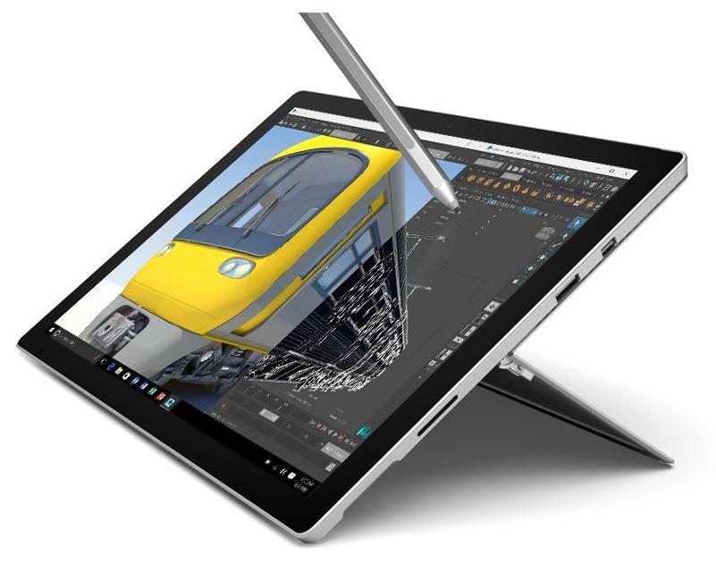 "Tablette 12.5"" Microsoft Surface Pro 4 - i7-6650U, 16 Go de RAM, SSD 256 Go + Stylet Surface"