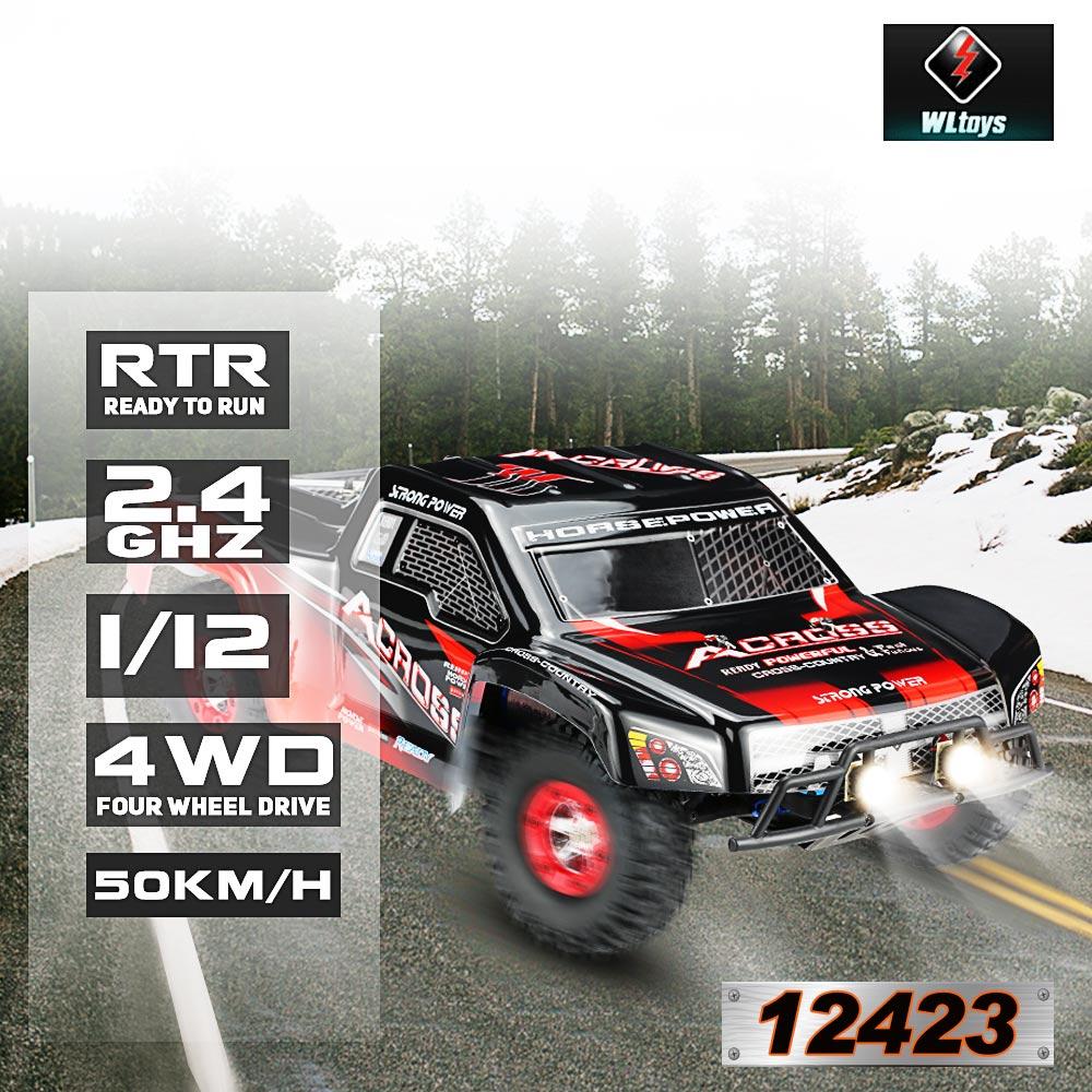 Voiture télécommandée Wltoys 12423 1/12 2.4G 4WD