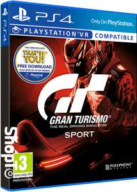 Gran Turismo Sport sur PS4