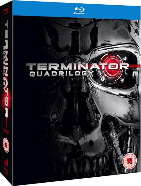 Coffret Blu-Ray Terminator Quadrilogie (1-4) - Version VF uniquement sur le 1