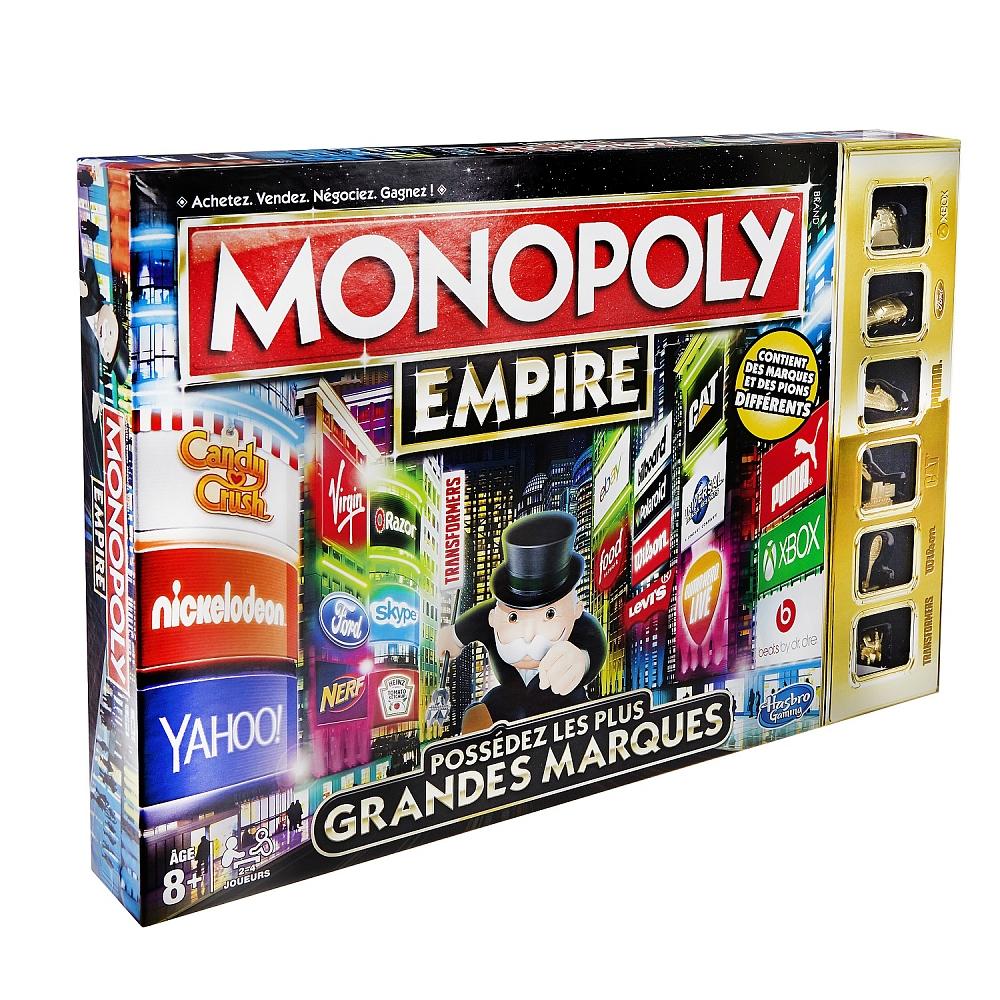 50% de remise immédiate sur une sélection de jeux de société - Ex : Monopoly Empire