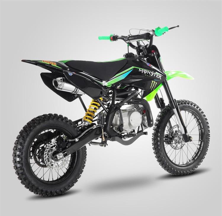 Moto Dirt Bike LX 125CC - 12/14 monster - 2017