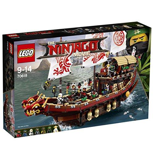 Jeu de Construction Le QG des Ninjas Lego n°70618 + LEGO - 70902 GRATUIT