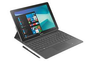 "Tablette 10,6"" avec clavier Samsung Galaxy Book - Core M3, 64Go de ROM, 4Go de RAM, Windows 10"