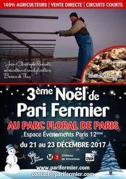 2 invitations gratuites pour le Pari Noël Fermier