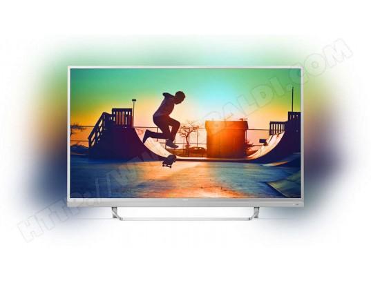 "TV 49"" Philips 49PUS6482 - LED, 4K UHD, Ambilight 3 côtés, Android TV (via ODR de 100€)"