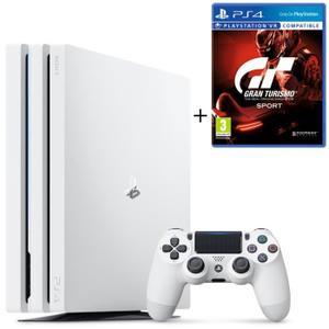 Sélection de packs PS4 Pro en promotion - Ex : Console Sony PS4 Pro (1 To) + Gran Turismo Sport + Jeu Qui-es-tu ?
