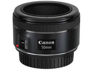 Objectif 50mm Canon STM f1.8