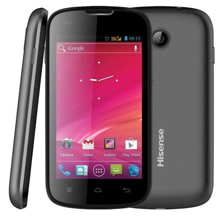 "Smartphone 4"" Hisense U912 - Dualcore, RAM 512Mo"