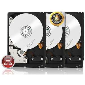 Pack de 3 disques durs Western Digital Red 3To