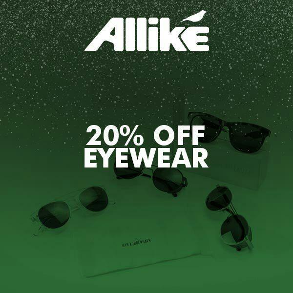 20% de réduction une sélection de lunettes de soleil