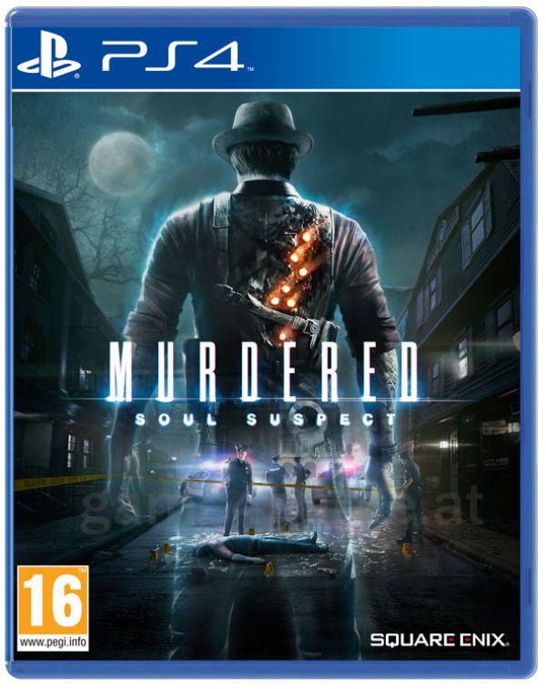 Jeu Murdered : Soul Suspect sur PS4