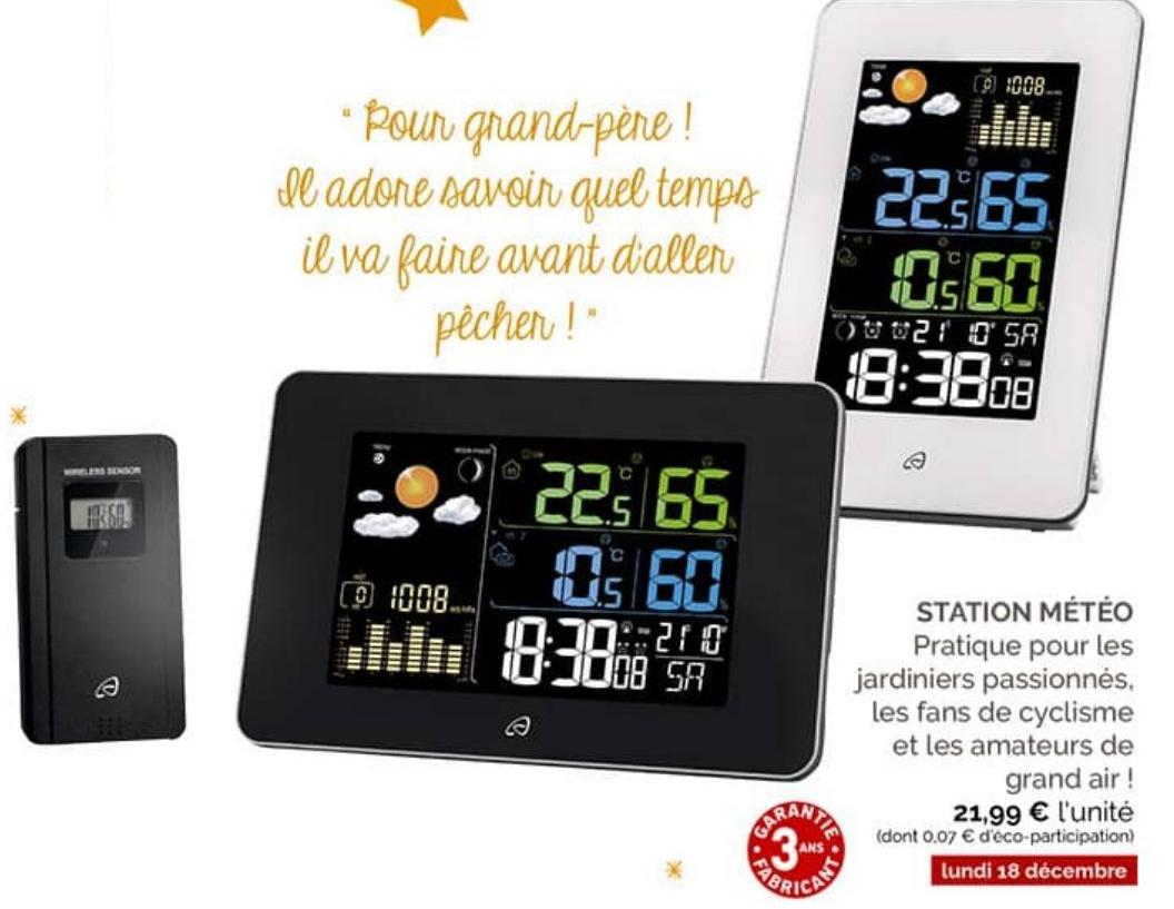 Station météo Auriol