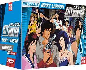 Coffret DVD City Hunter (Nicky Larson) : Intégrale (non censurée)