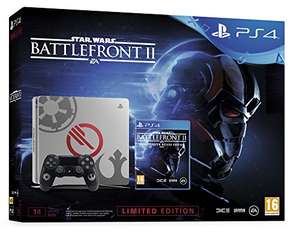 Console Sony PS4 Slim 1To Edition Star wars + Star Wars Battlefront II: Deluxe Edition