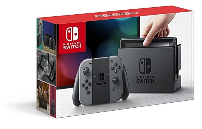 Console Nintendo Switch - Joycon gris ou néon et bleu