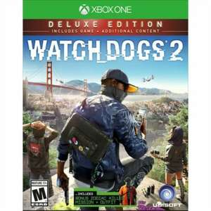Watch Dogs 2 Deluxe Edition sur Xbox One