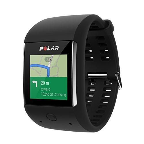 Montre GPS Sportive Connectée Polar M600 avec Cardio intégré (Coloris au choix) - Android