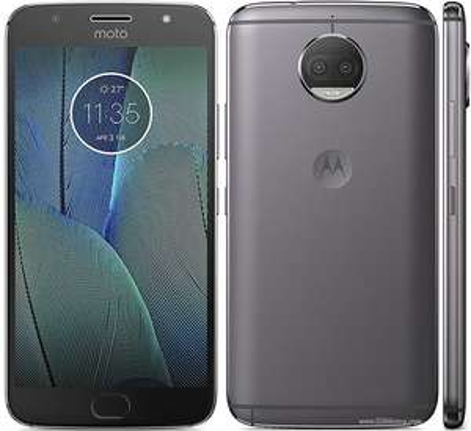 "Smartphone 5.5"" Lenovo Moto G5S Plus - IPS Full HD, Snapdragon 625, RAM 3Go, 32Go, Android 7.1"