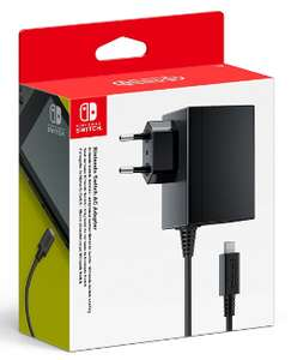 [Prime] Adaptateur Secteur pour Console Nintendo Switch - Noir