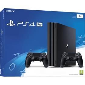 Sélection de produits en Promotion - Ex : Pack Console PS4 Pro (Noir - 1 To) + Qui es-tu ? + 2 Manettes