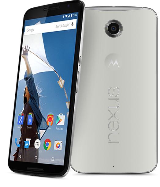 Smartphone Motorola Nexus 6 64Go Blanc - Reconditionné