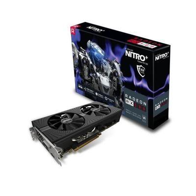 Carte graphique AMD Sapphire NITRO+ Radeon RX 580 - 8 Go GDDR5  + jeu Quake Champions offert